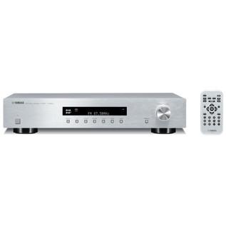 Yamaha TD500 DAB/DAB+/FM/AM/ Tuner Radio, Silver, Front