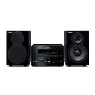 Yamaha MCR-232 Micro Component Speaker System with iPod Dock, Black