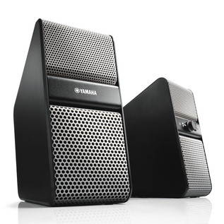 Yamaha NX-50 Speakers for TV, PC, tablet or smartphone, Silver