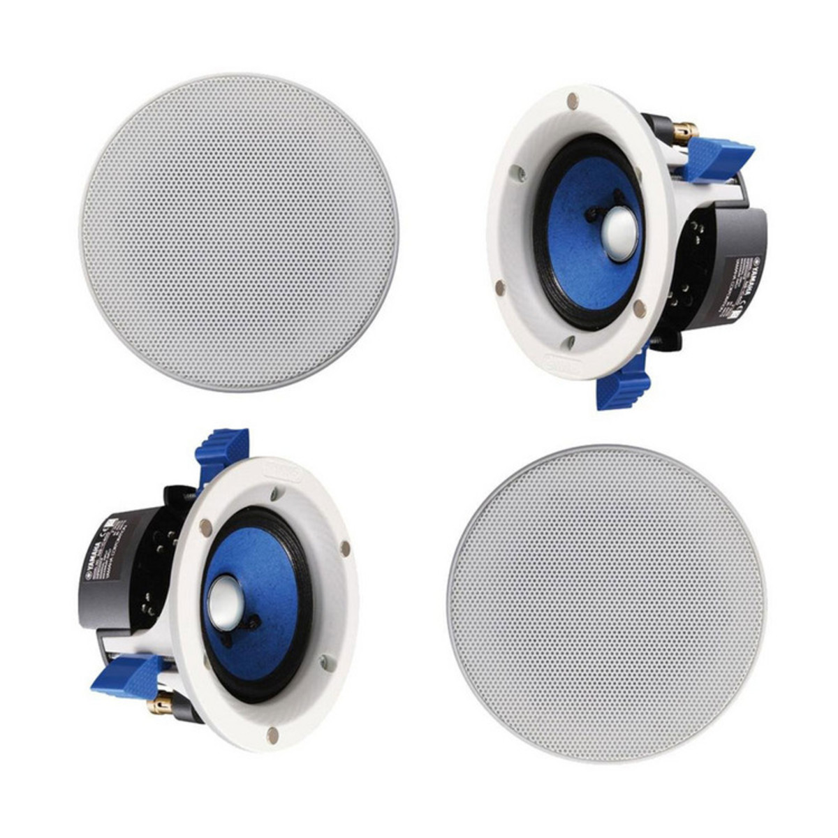 Yamaha Ns Ic400 Double Layer 4 Inch Speakers Pair