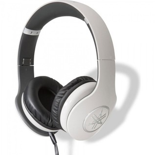 Yamaha HPH-PRO400 High-Fidelity Over-Ear Headphones, White