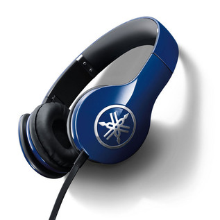 Yamaha HPH-PRO300 High-Fidelity On-Ear Headphone, Blue