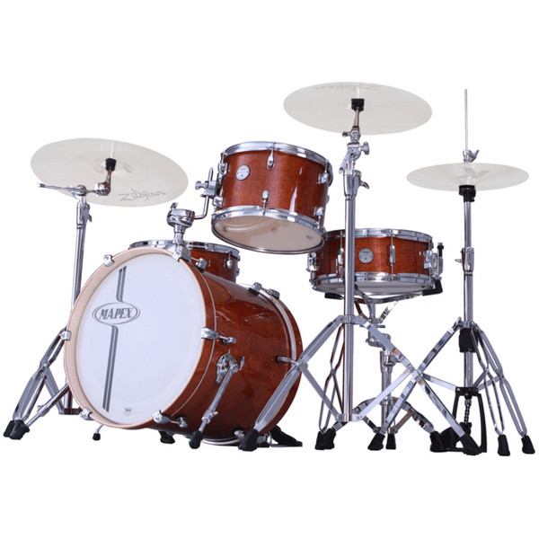 mapex horizon birch club classic 18inch jazz drum kit walnut at gear4music. Black Bedroom Furniture Sets. Home Design Ideas
