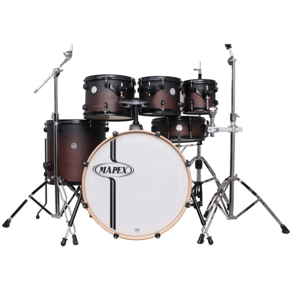 mapex horizon birch rock fusion 6pc 22in drum kit wax coffee fade at. Black Bedroom Furniture Sets. Home Design Ideas