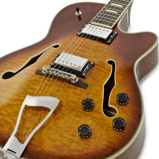 SubZero New Orleans Semi Acoustic Jazz Guitar, Sunburst