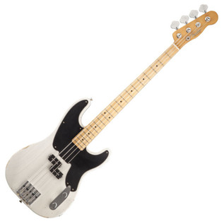 Fender Mike Dirnt Road Worn Precision Bass, MN, White Blonde