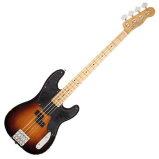 Fender Mike Dirnt Road Worn Precision Bass, MN, 3-Color Sunburst