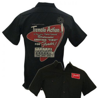Fender Tremolo Work Shirt, Small