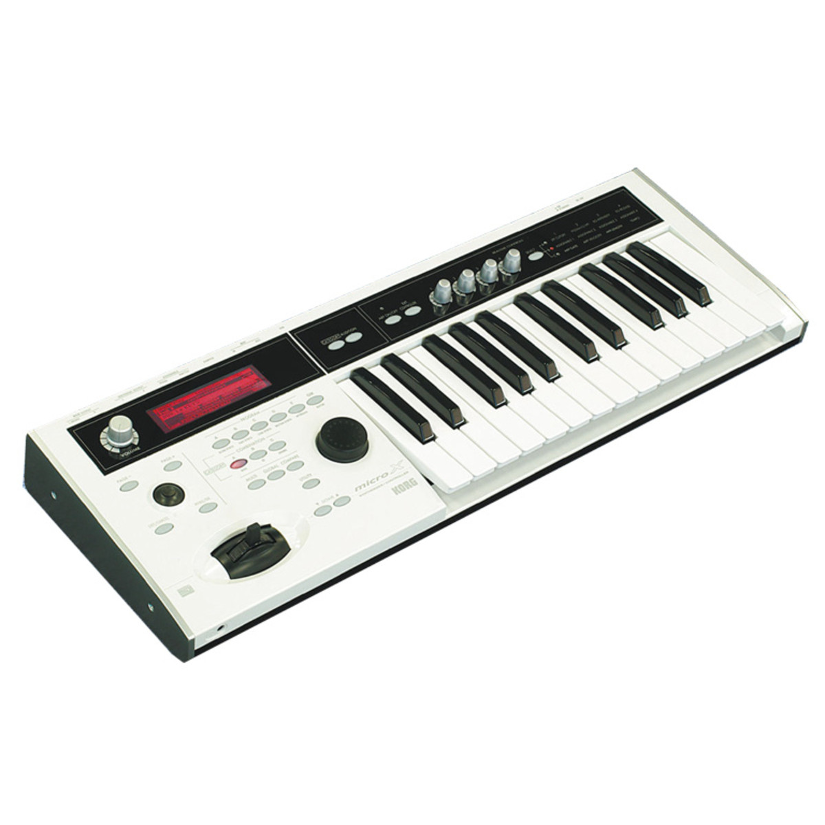 korg micro x synthesizer white at gear4music. Black Bedroom Furniture Sets. Home Design Ideas