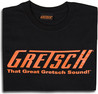 Great Gretsch Sound T-Shirt, Black, XXL