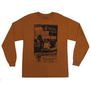 Fender Hotrod Hoodlums T-Shirt, Orange, Large