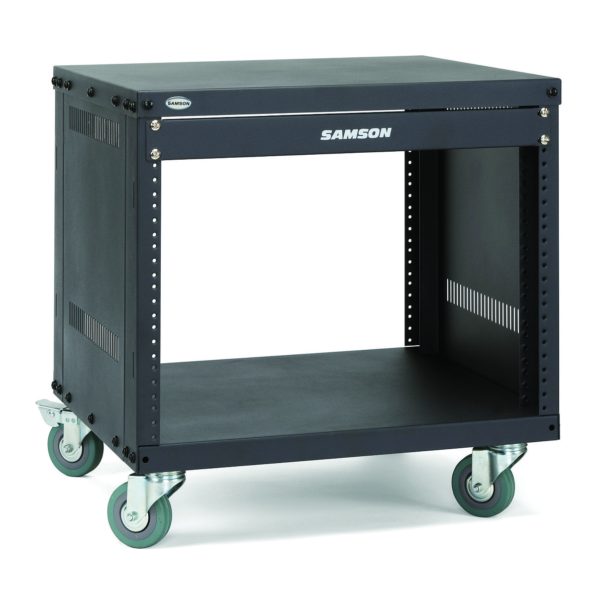 span samson equipment srk rack quot with wheels