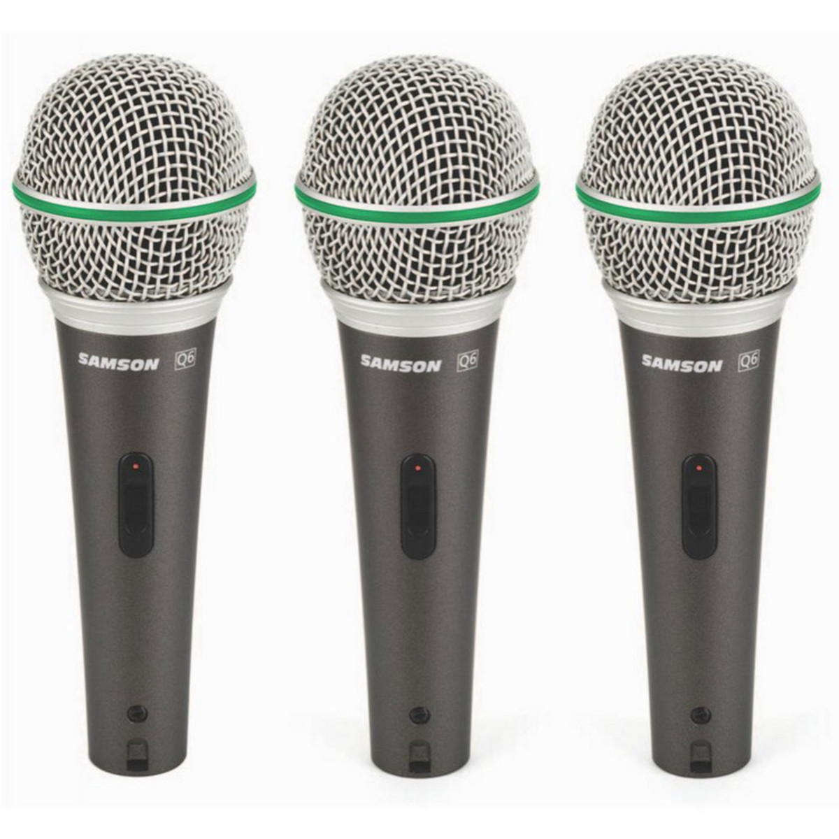 Click to view product details and reviews for Samson Q6 Cl Dynamic Microphone 3 Pack.