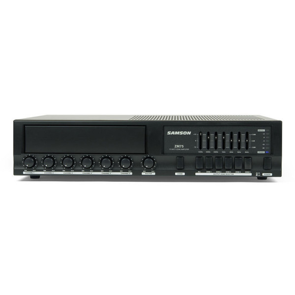 Samson ZM75 Zone Mixer/Amplifier, Front