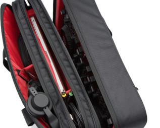 Magma Digi Control DJ Bag, Black/Red, XL Fits S4