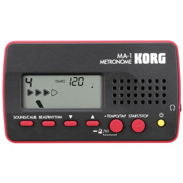 Korg MA-1 Digital Metronome, Black/Red