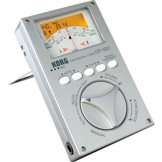 Korg OT-120 Wide 8 Octave Orchestra Digital Tuner