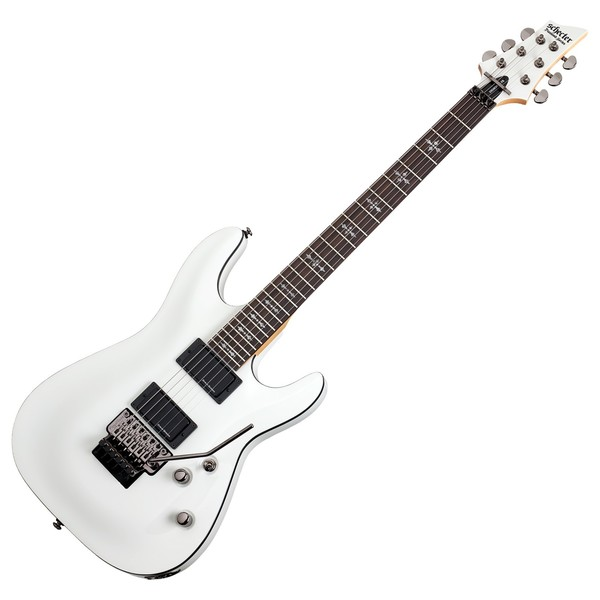 Schecter Demon 6 with Floyd Rose, Vintage White
