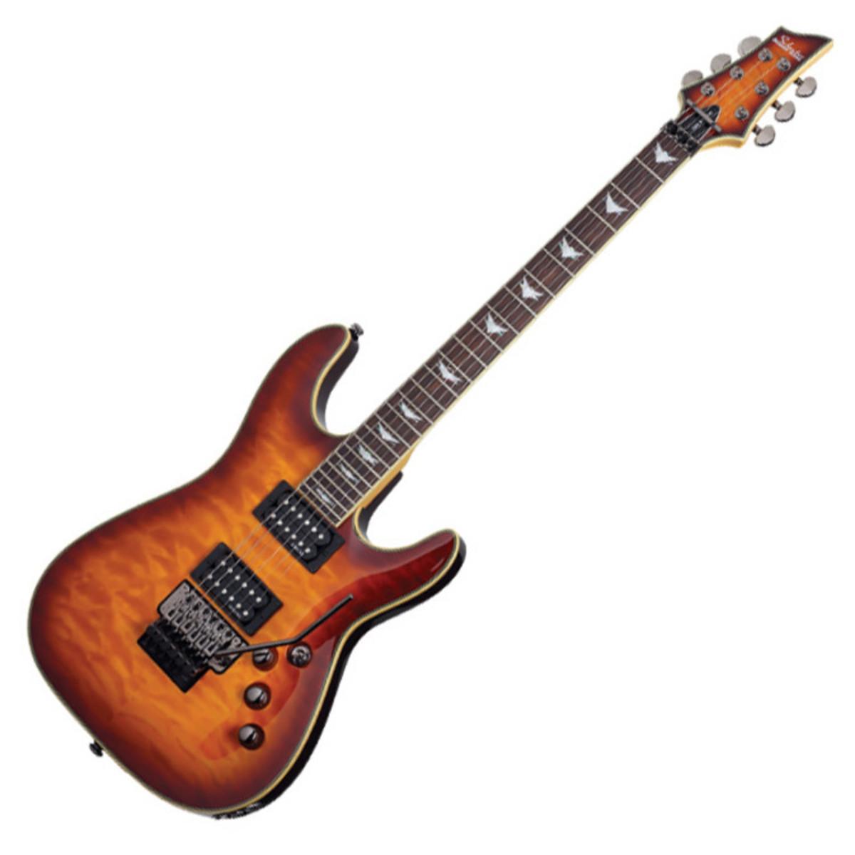 schecter omen extreme 6 fr electric guitar vintage sunburst at gear4music. Black Bedroom Furniture Sets. Home Design Ideas