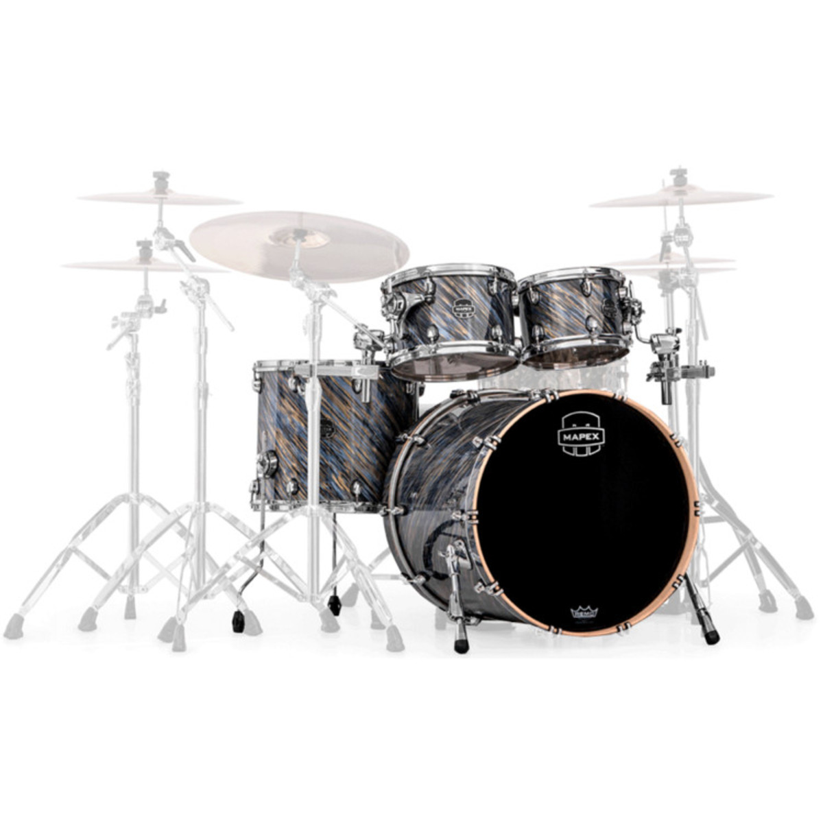 Disc Mapex Saturn Iv Fusion 20in Shell Pack Marine Spiral