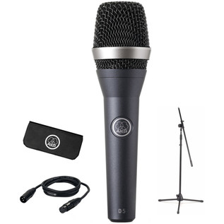 AKG D5 Vocal Microphone Stage Pack