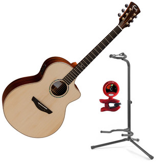 Faith Neptune Hi Gloss Electro Acoustic + FREE Snark Tuner and Stand