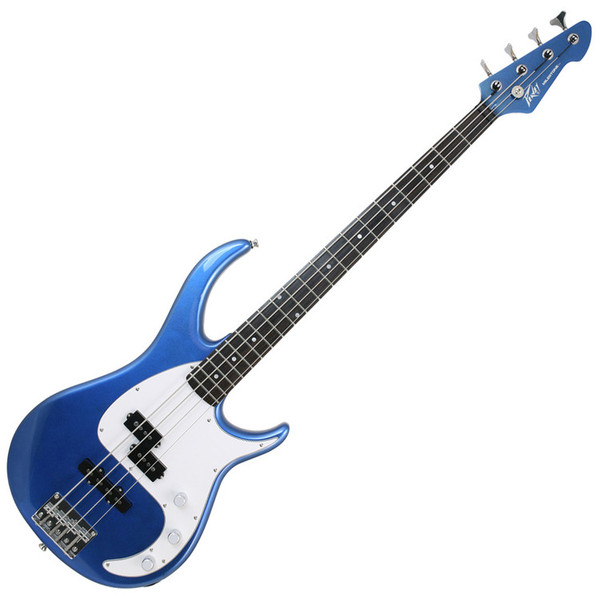 Peavey Milestone Bass Guitar, Gulfcoast Blue