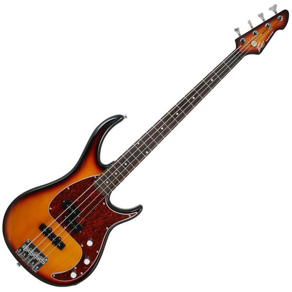 Peavey Milestone Bass Guitar, Vintage Burst