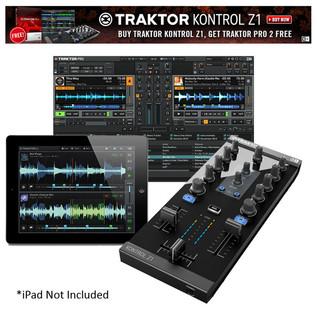 Traktor Kontrol Z1 with Free Traktor DJ Pro 2