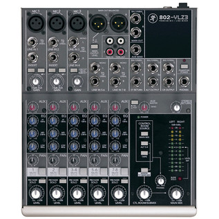 Mackie 802-VLZ3 Mixer With FREE Carry Bag