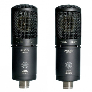 Audix CX112B Matched Pair Large Diaphragm Condenser Microphones