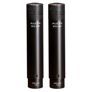 Audix SCX1 Condenser Pencil Microphone, Matched Pair