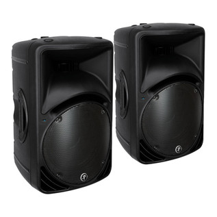 Mackie SRM450 Active PA Speaker Bundle With FREE Speaker Stands