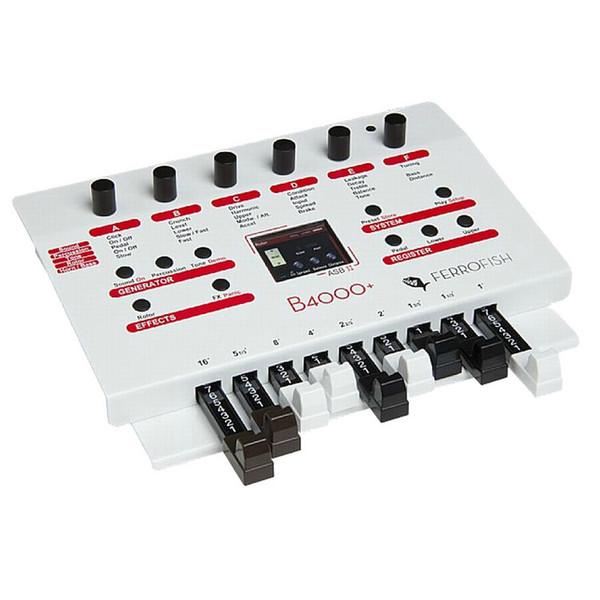 Ferrofish B4000+ Authantic Organ Modeller