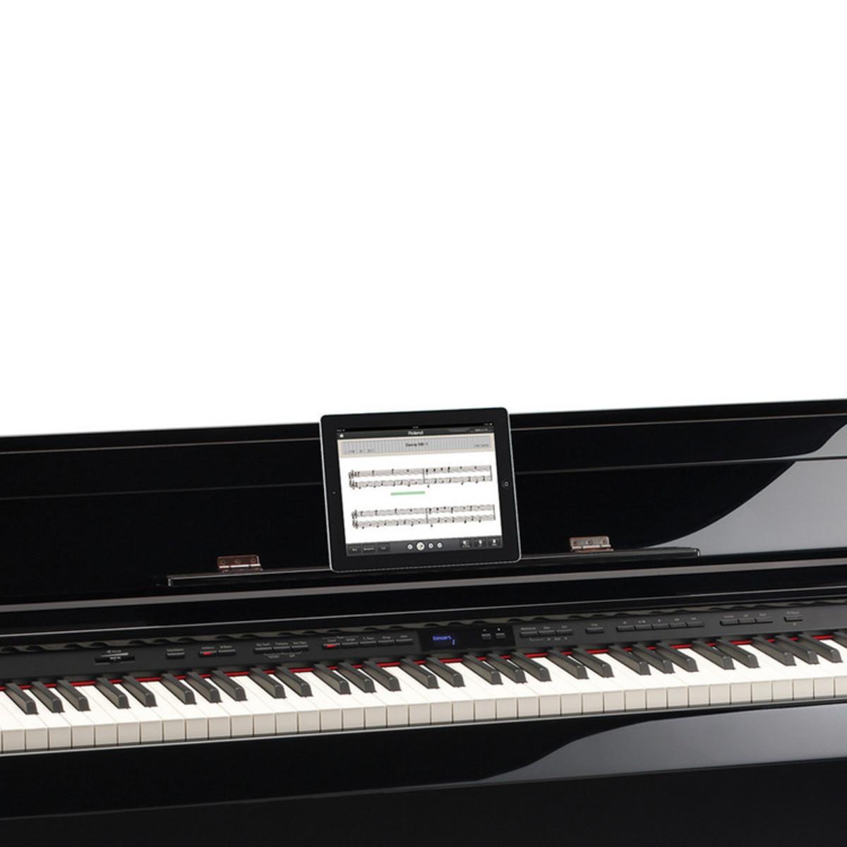 Roland dp 90se pianoforte digitale ebano lucido a for Generatore di piano