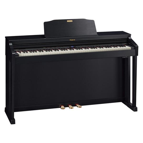 Roland HP-504 Digital Piano, Contemporary Black