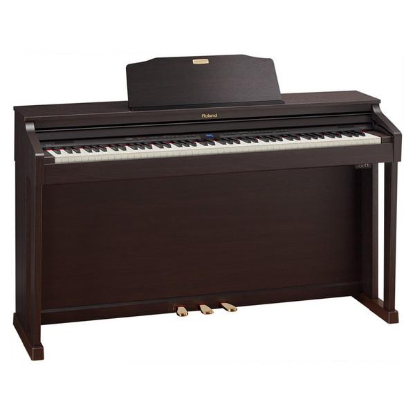 Roland HP-504 Digital Piano, Rosewood