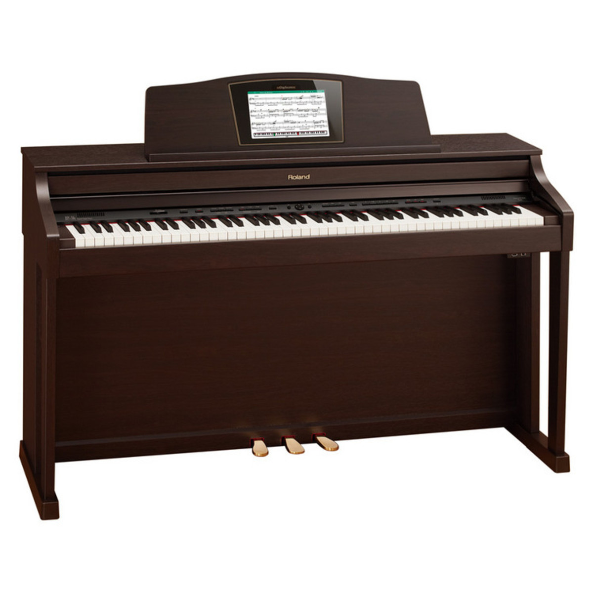roland hpi 50e digital piano rosewood at. Black Bedroom Furniture Sets. Home Design Ideas
