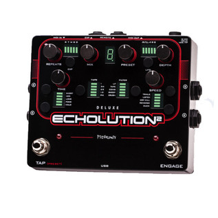 Pigtronix Echolution 2 Deluxe Programmable Modulation Delay Pedal