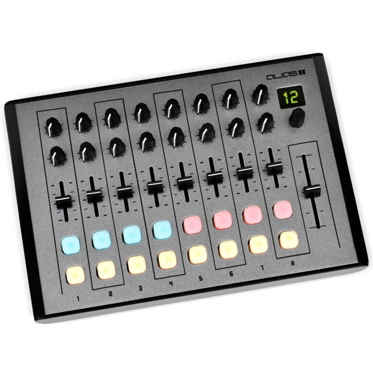 disc livid instruments alias 8 midi controller at gear4music. Black Bedroom Furniture Sets. Home Design Ideas