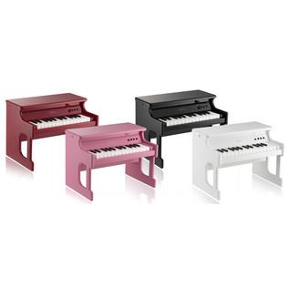Korg TinyPiano 25 Mini Key Digital Toy Piano, Gloss Red