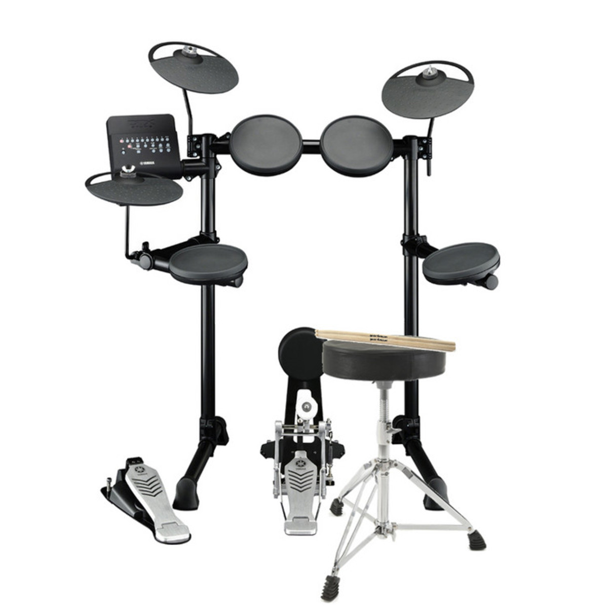 Yamaha DTX430K Electronic Drum Kit with FREE Stool and Sticks. Loading zoom  sc 1 st  Gear4music & Yamaha DTX430K Electronic Drum Kit including Stool and Sticks at ... islam-shia.org