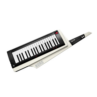Korg RK-100S Keytar 37 Note Performance Keyboard, White