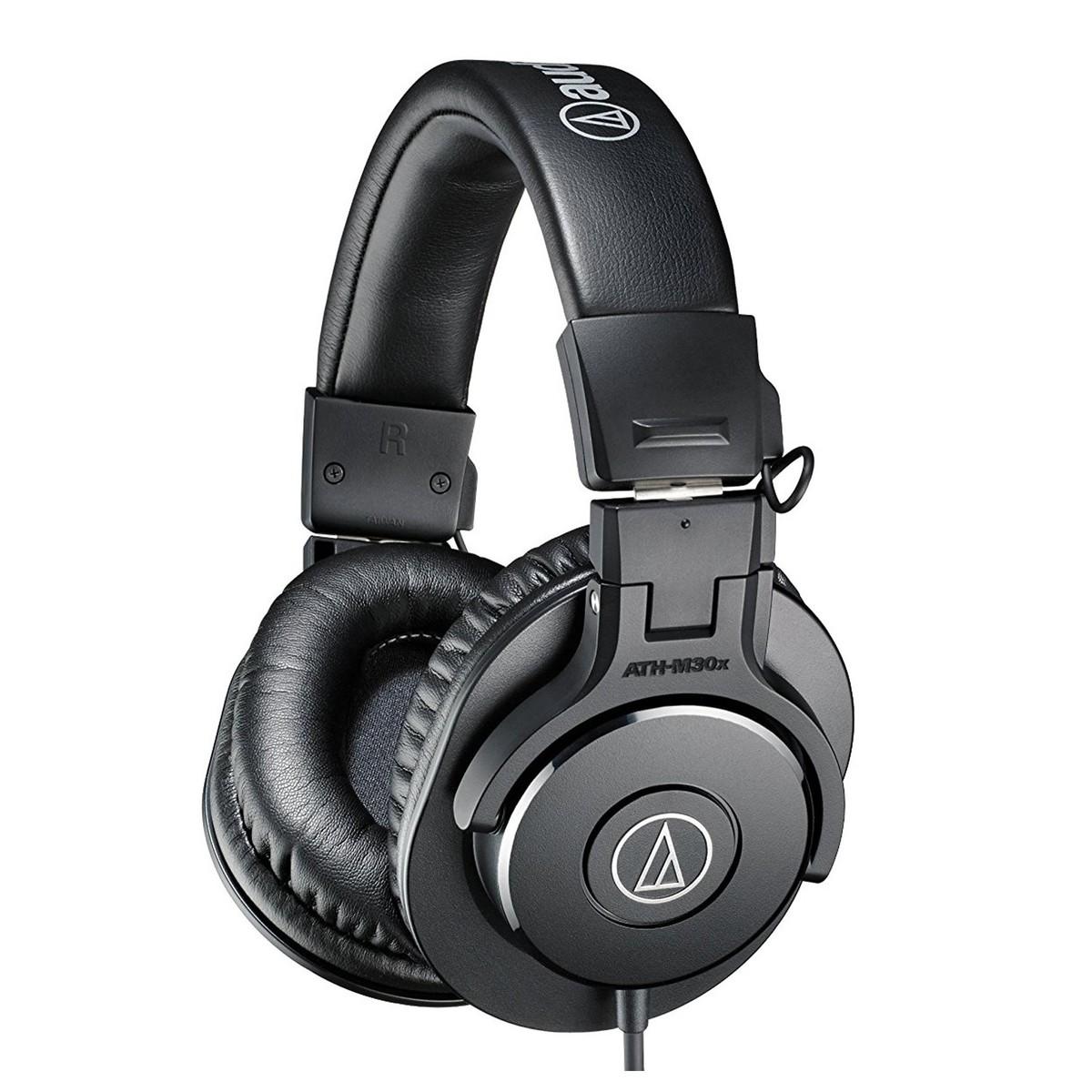 Headphones Audio Technica : audio technica ath m30x professional monitor headphones at gear4music ~ Hamham.info Haus und Dekorationen