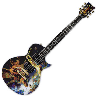ESP LTD Frazetta Electric Guitar, Beauty and The Beast
