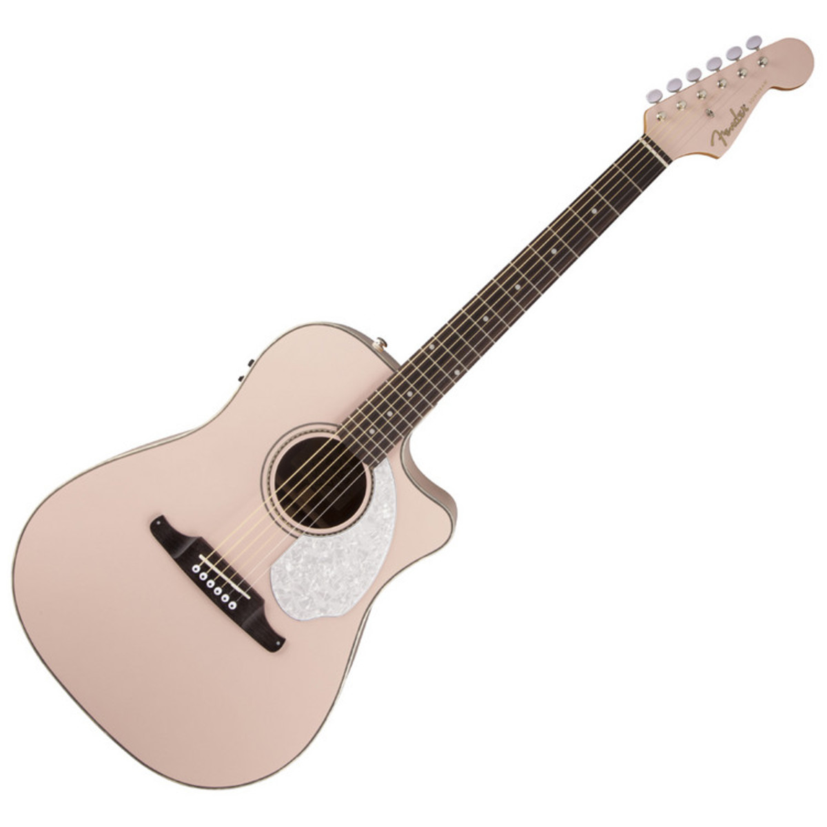 fender sonoran sce guitare electro acoustique rw rose. Black Bedroom Furniture Sets. Home Design Ideas