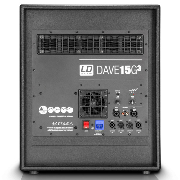 LD Systems DAVE 15G3 Portable Active PA System