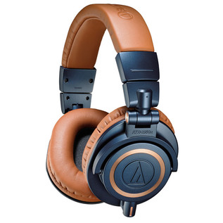 Audio Technica ATH-M50xBL Professional Monitor Headphones, Blue