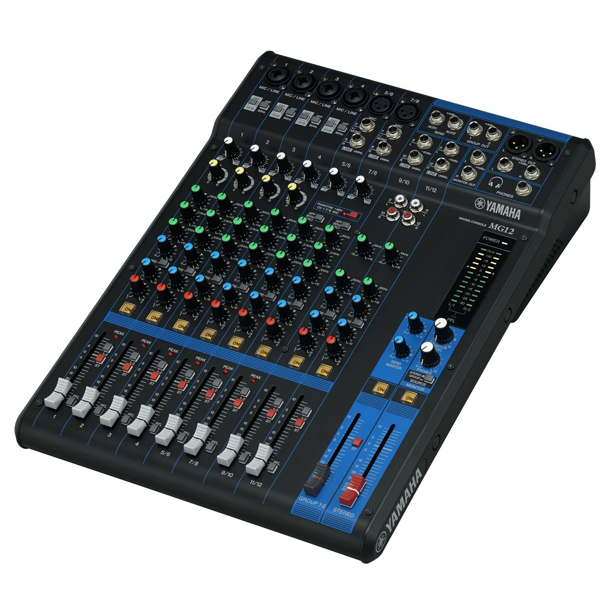Yamaha mg12 table de mixage analogique gear4music for Table yamaha