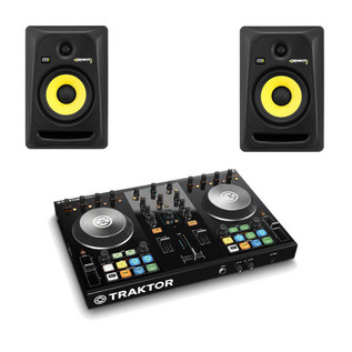 Native Instruments Traktor Kontrol S2 mk2 + KRK RP6 Bundle